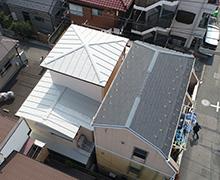 上空背面からの全景写真