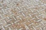 鉄部のサビの発生や塗膜剥離